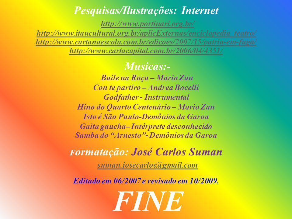 FINE Pesquisas/Ilustrações: Internet http://www.portinari.org.br/