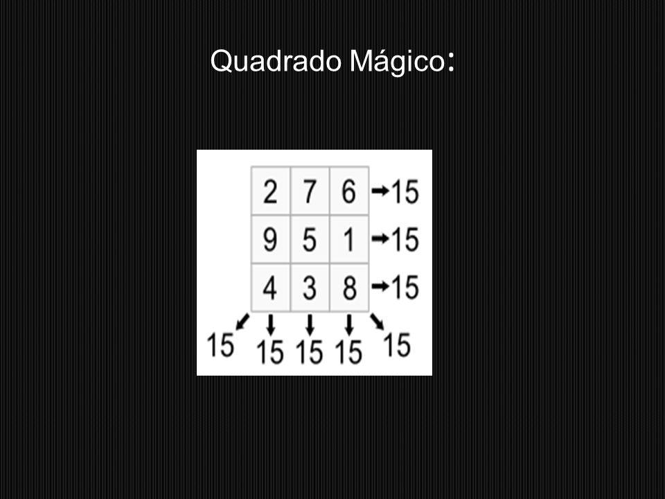Quadrado Mágico: