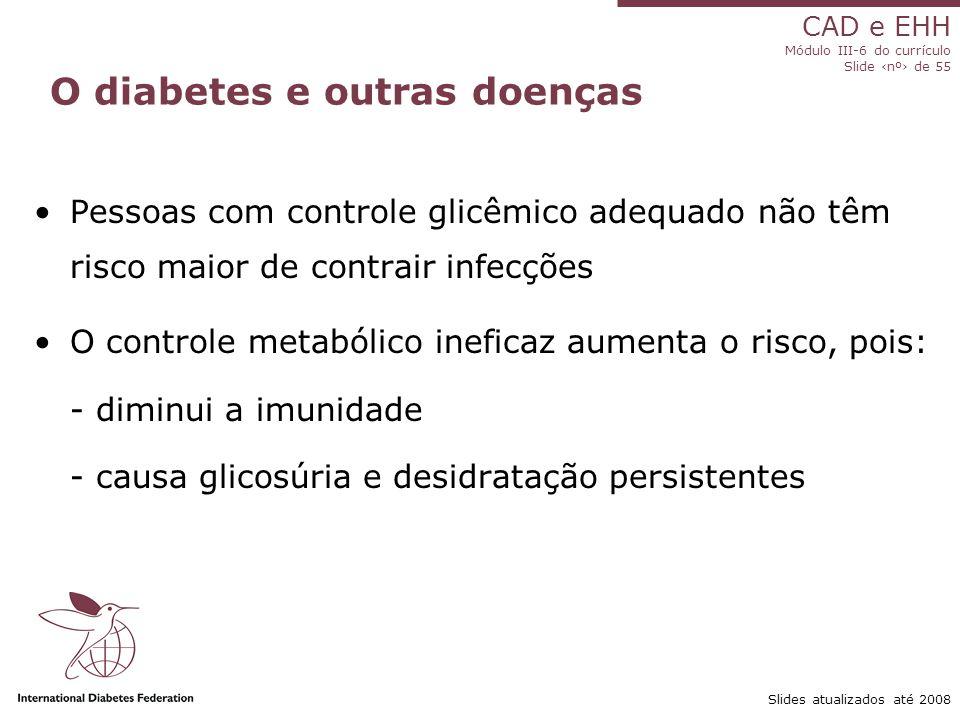 O diabetes e outras doenças