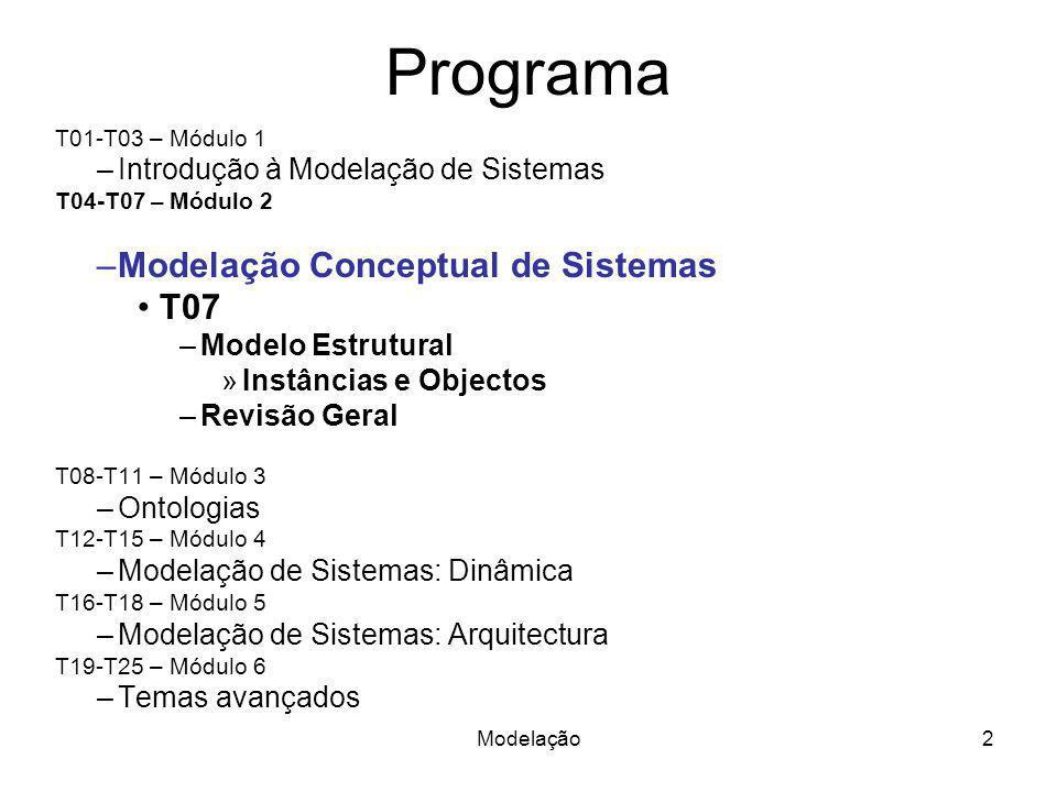 Programa Modelação Conceptual de Sistemas T07