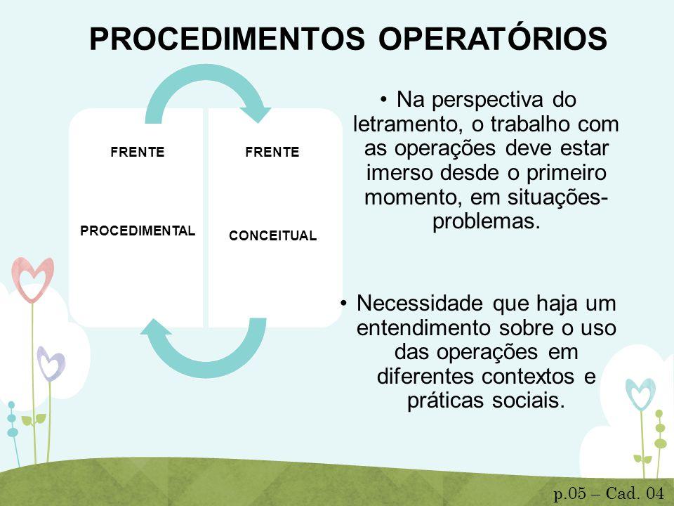 PROCEDIMENTOS OPERATÓRIOS