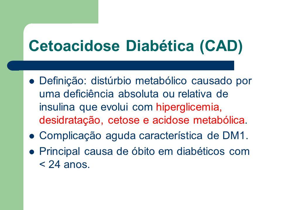 Cetoacidose Diabética (CAD)