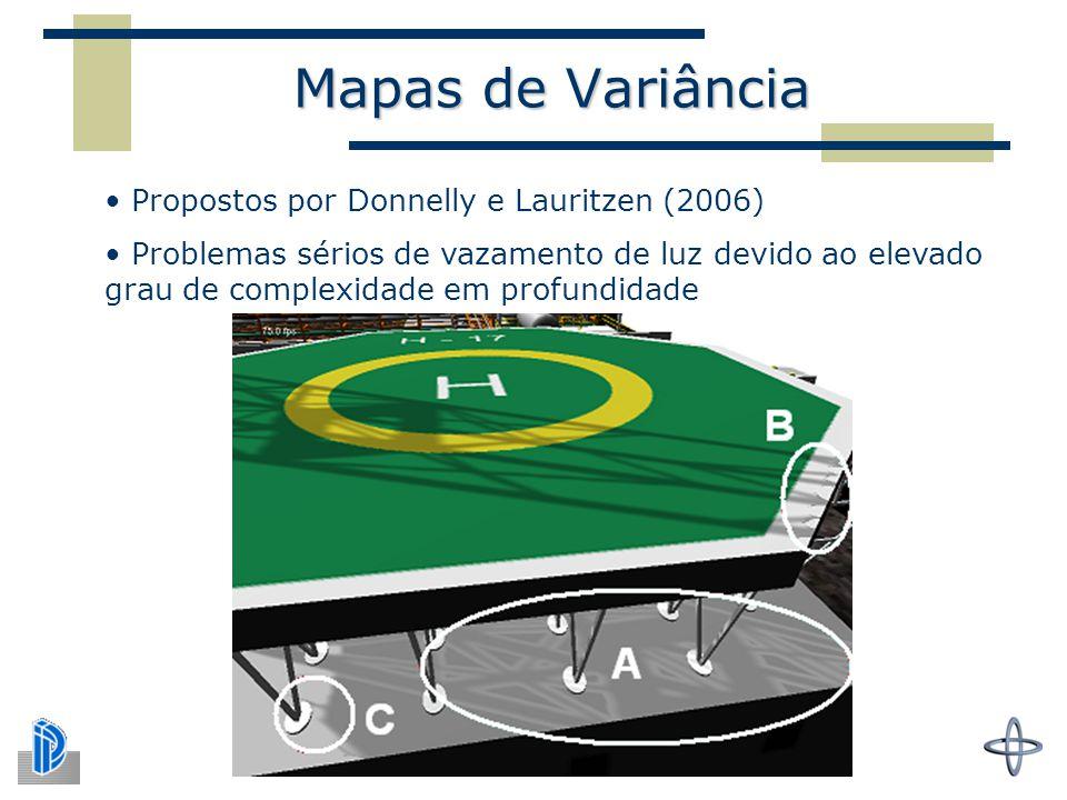 Mapas de Variância Propostos por Donnelly e Lauritzen (2006)
