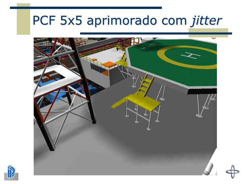 PCF 5x5 aprimorado com jitter