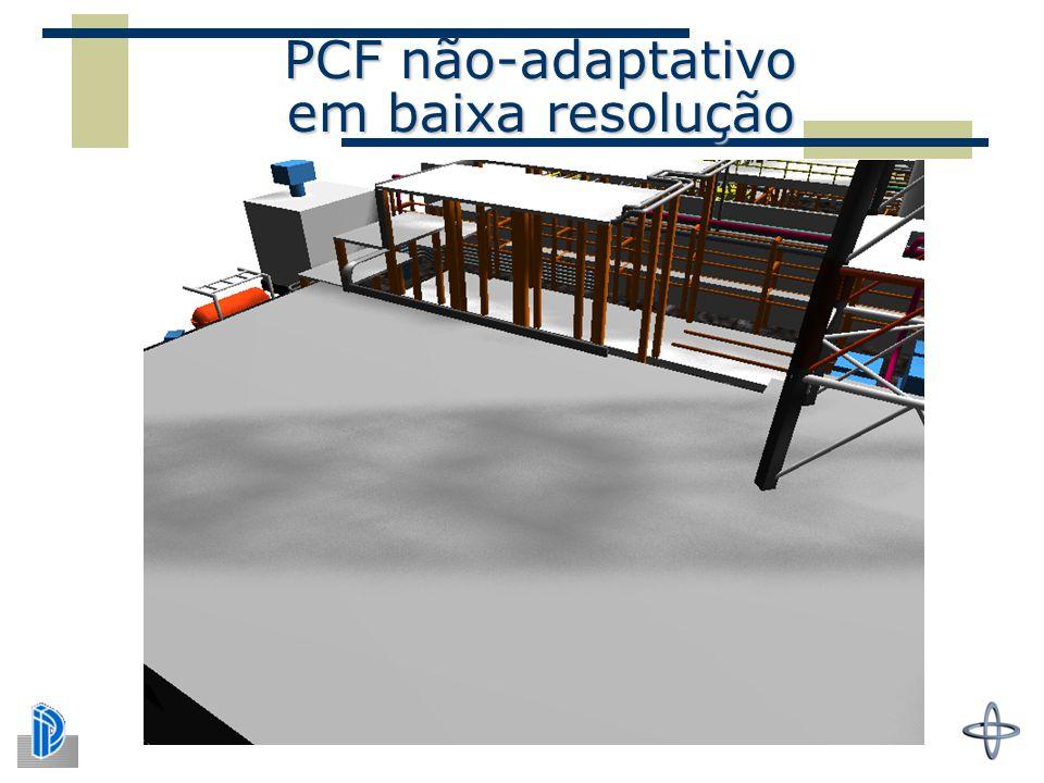 PCF não-adaptativo em baixa resolução