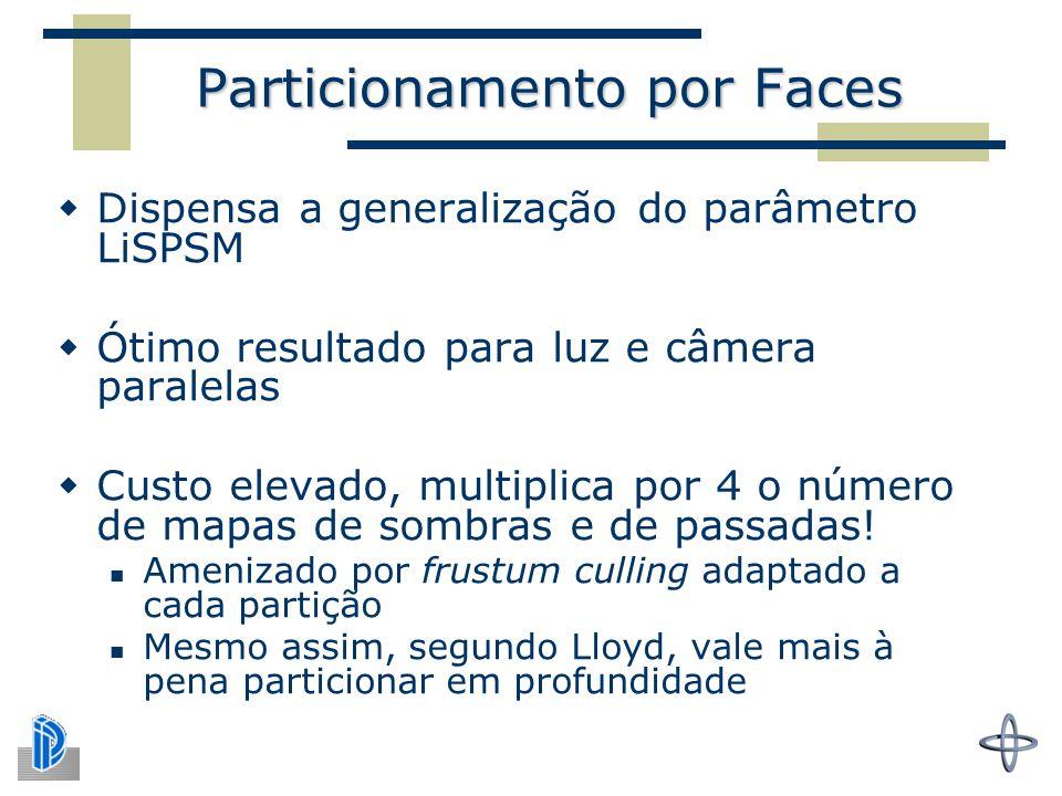 Particionamento por Faces