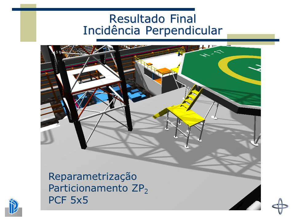 Resultado Final Incidência Perpendicular