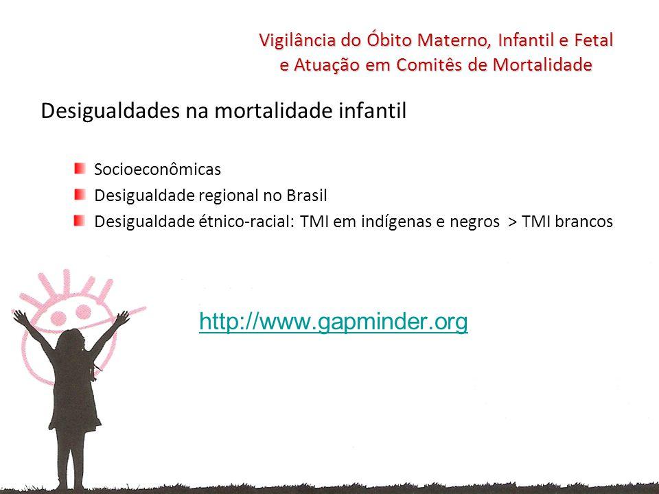 Desigualdades na mortalidade infantil