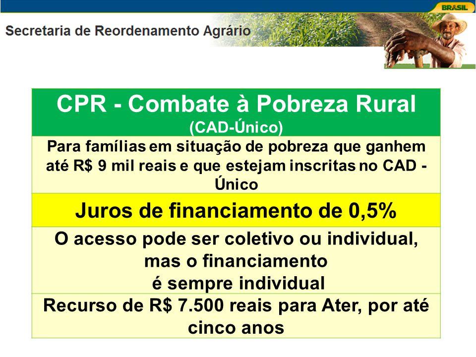 CPR - Combate à Pobreza Rural