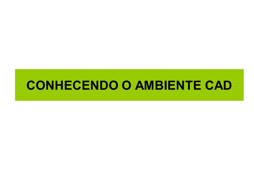 CONHECENDO O AMBIENTE CAD