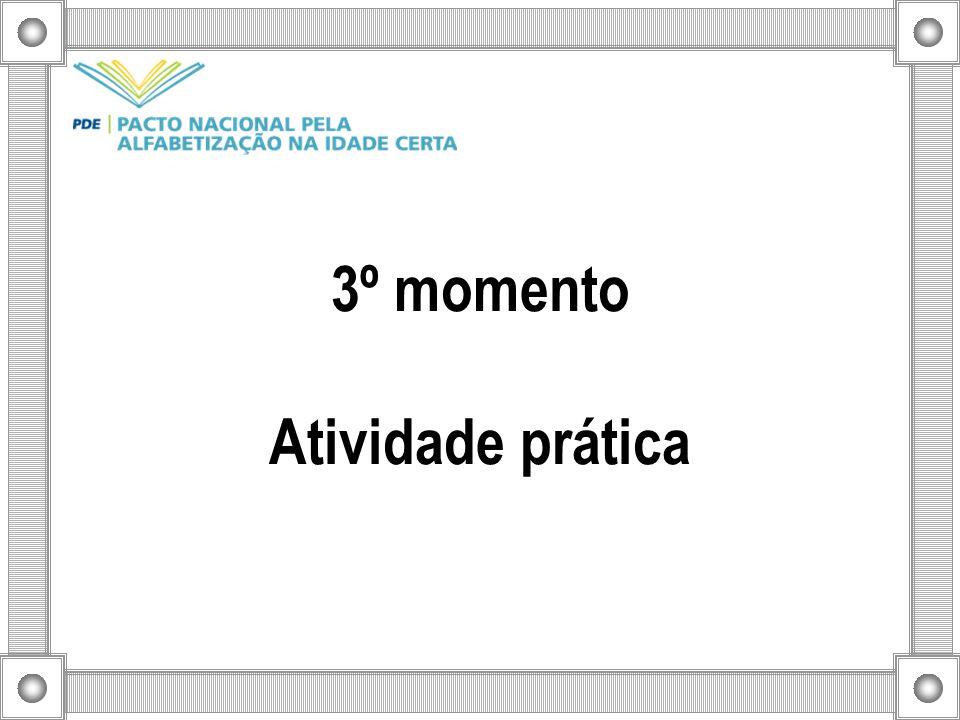 3º momento Atividade prática