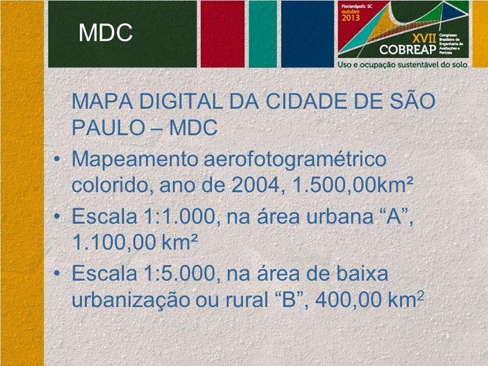 MDC MAPA DIGITAL DA CIDADE DE SÃO PAULO – MDC