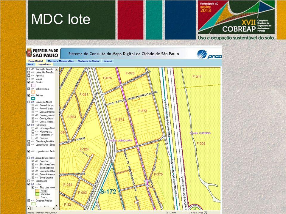MDC lote