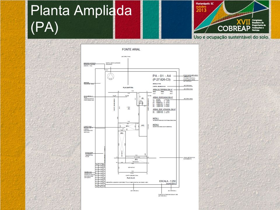 Planta Ampliada (PA)