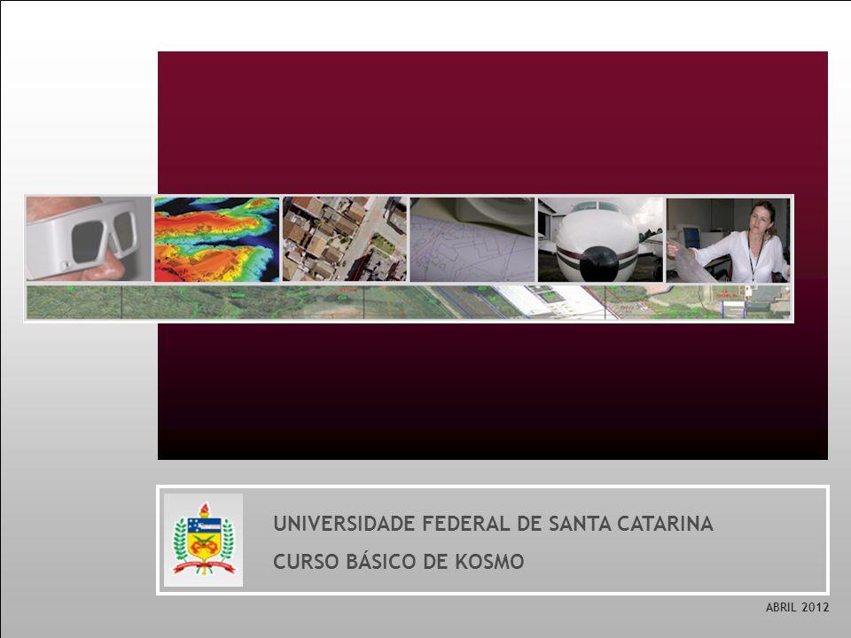 UNIVERSIDADE FEDERAL DE SANTA CATARINA CURSO BÁSICO DE KOSMO