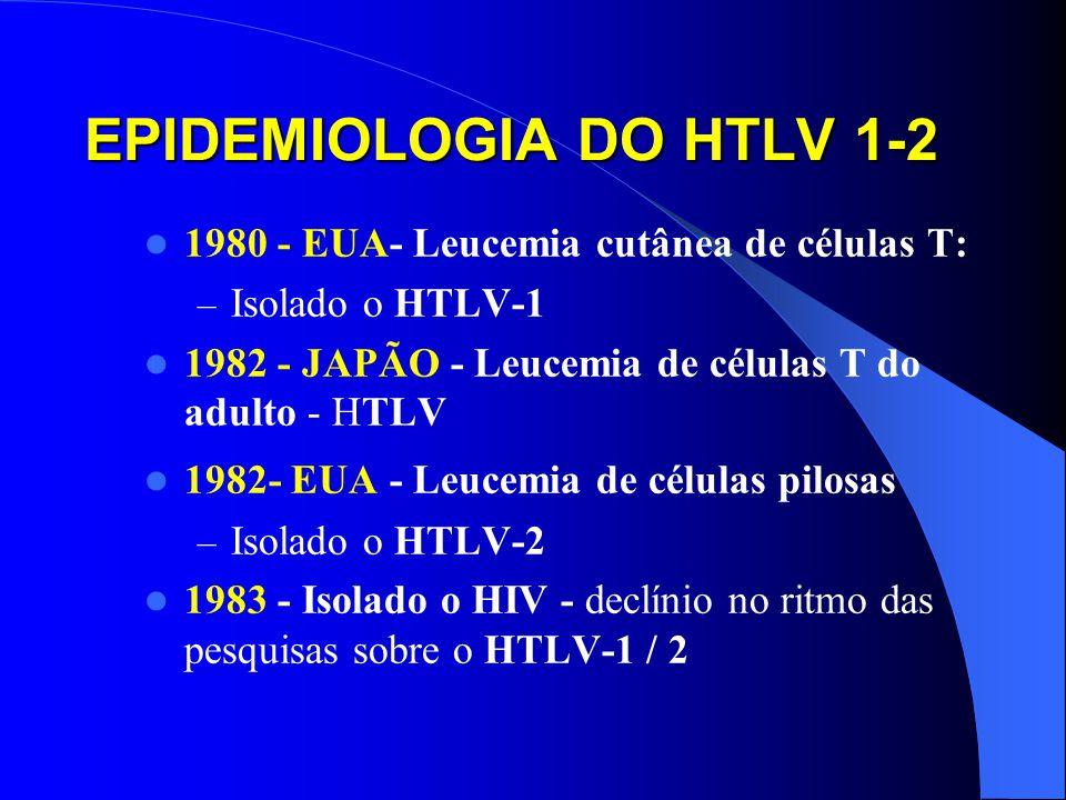 EPIDEMIOLOGIA DO HTLV 1-2