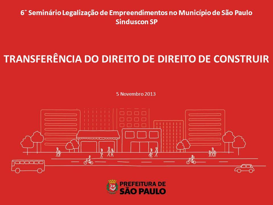 TRANSFERÊNCIA DO DIREITO DE DIREITO DE CONSTRUIR