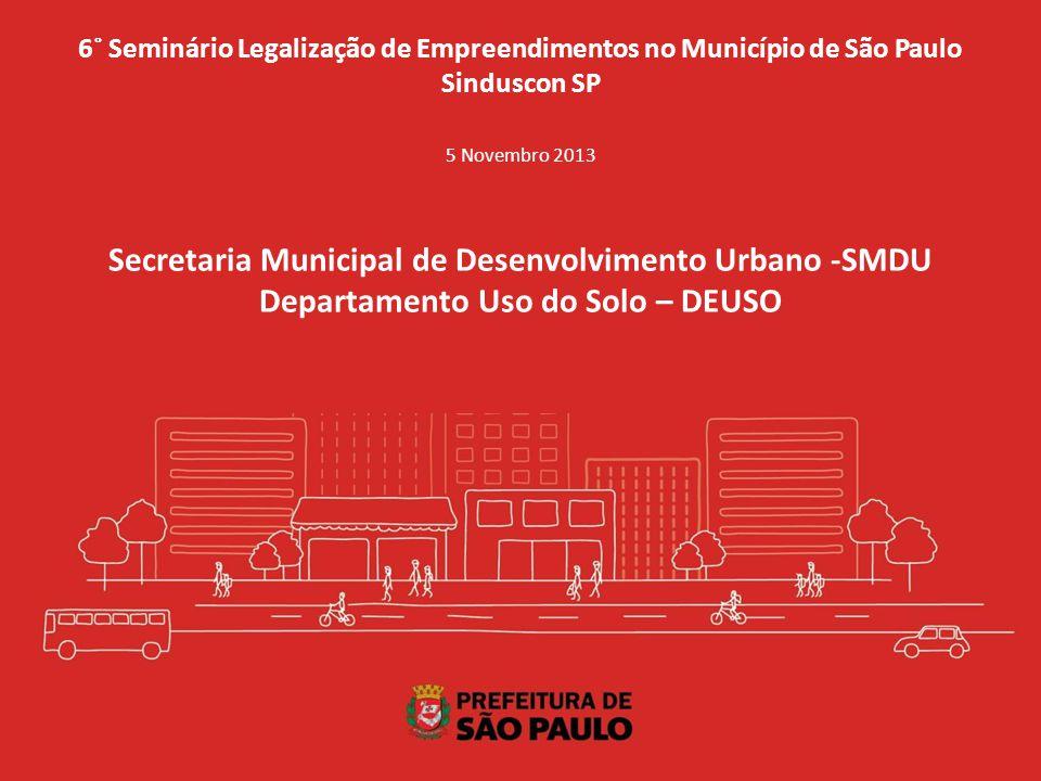 Secretaria Municipal de Desenvolvimento Urbano -SMDU