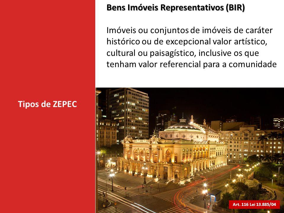 Bens Imóveis Representativos (BIR)