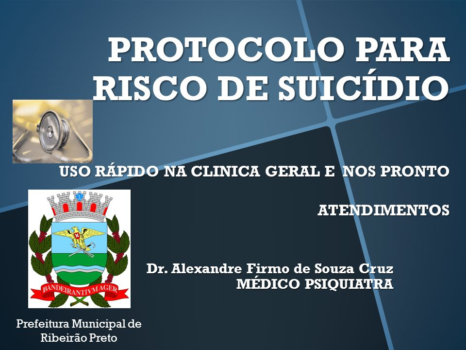 Dr. Alexandre Firmo de Souza Cruz MÉDICO PSIQUIATRA