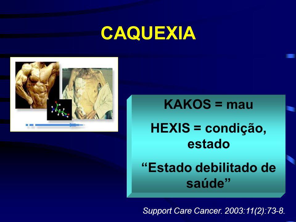 HEXIS = condição, estado Estado debilitado de saúde