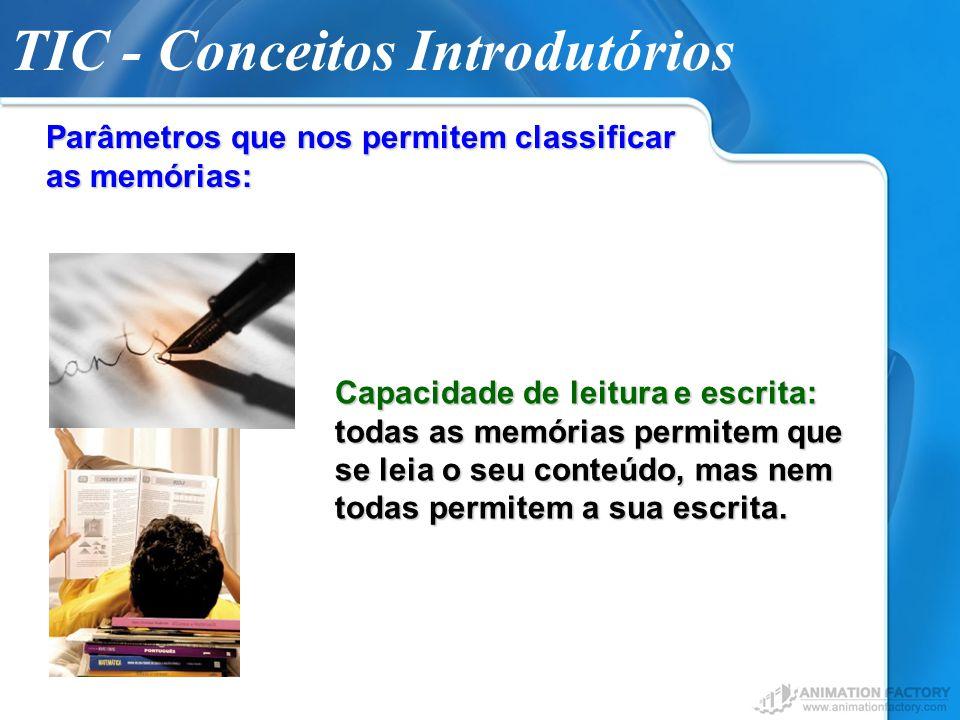 TIC - Conceitos Introdutórios