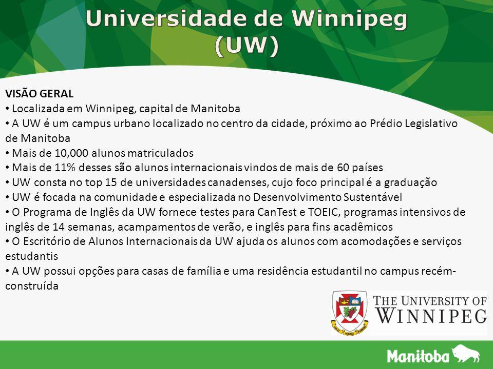 Universidade de Winnipeg