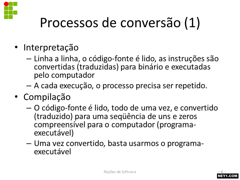 Processos de conversão (2)