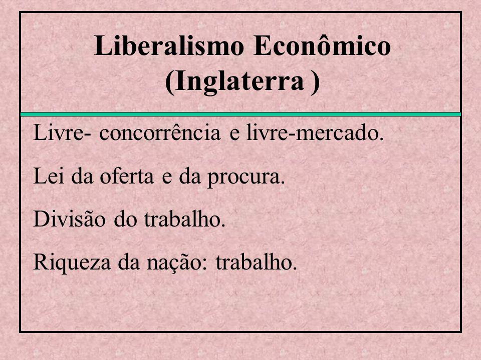 Liberalismo Econômico (Inglaterra )