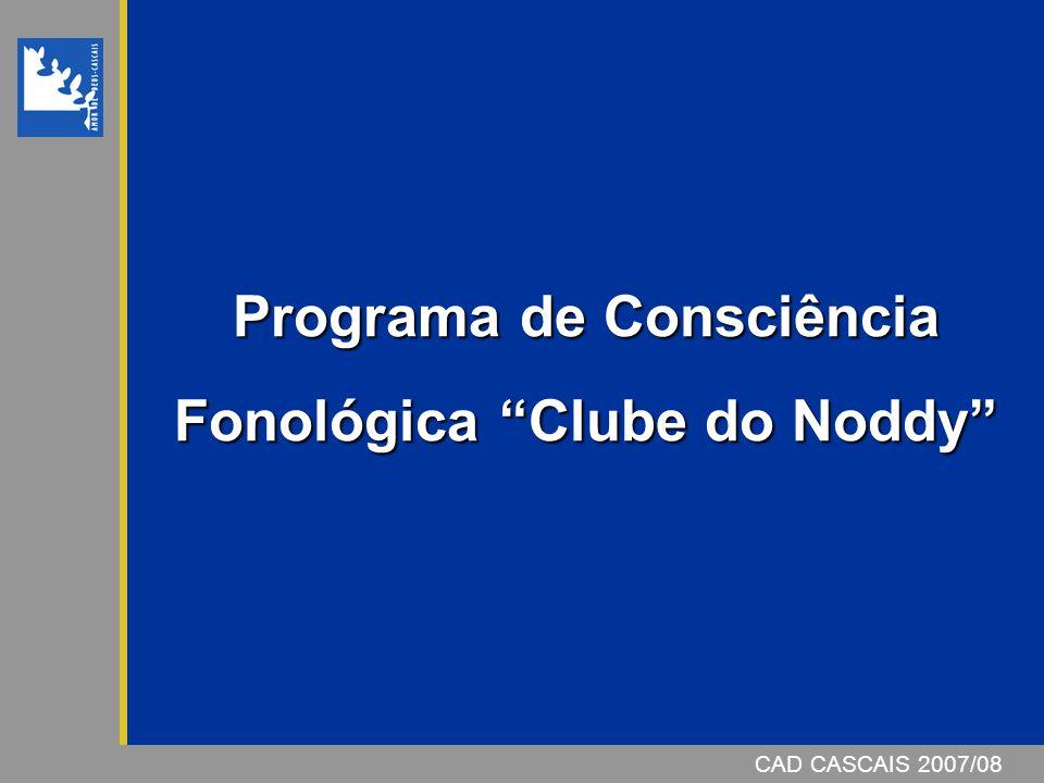 Programa de Consciência Fonológica Clube do Noddy