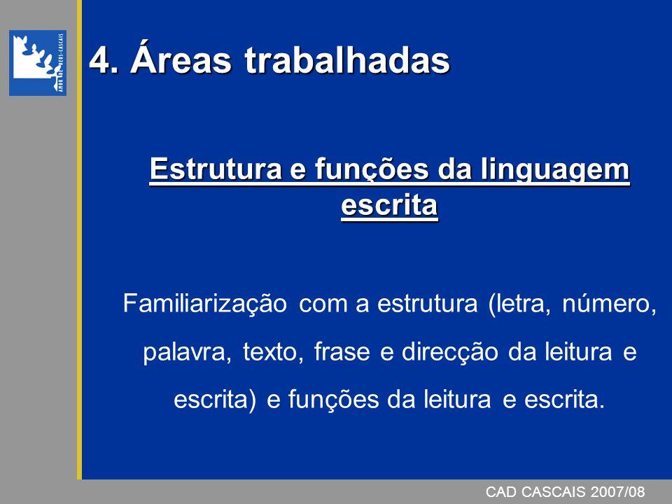 Estrutura e funções da linguagem escrita