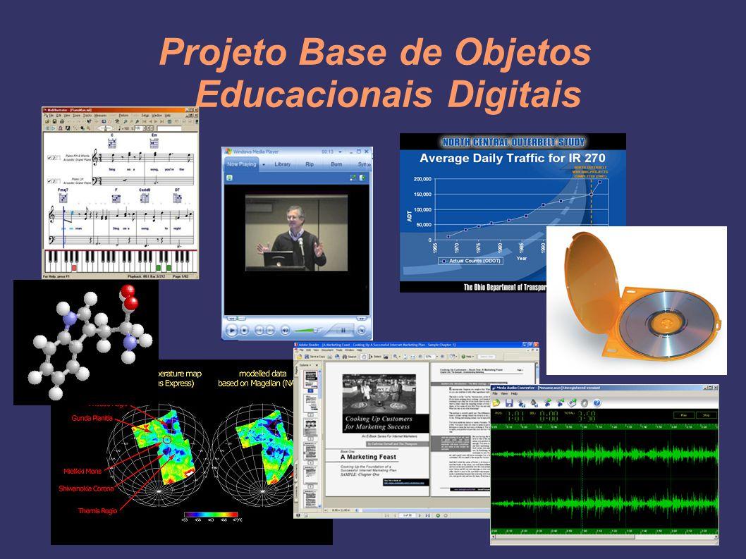 Projeto Base de Objetos Educacionais Digitais