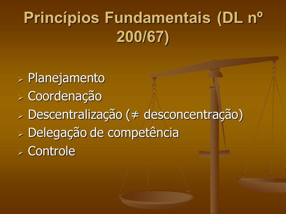 Princípios Fundamentais (DL nº 200/67)