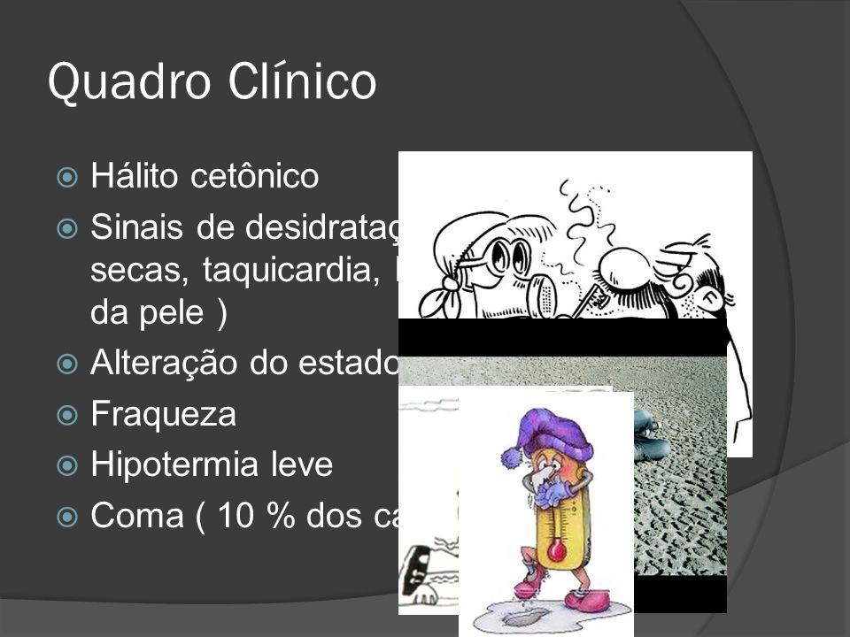 Quadro Clínico Hálito cetônico
