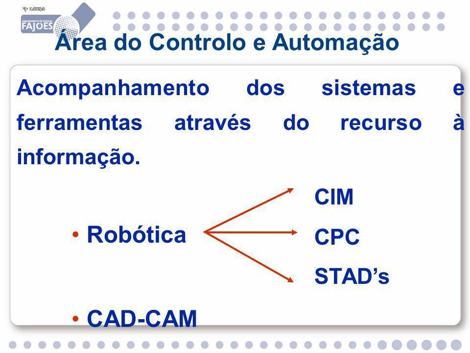 Área do Controlo e Automação