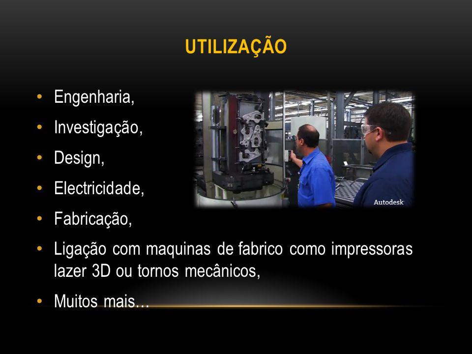 Utilização Engenharia, Investigação, Design, Electricidade,