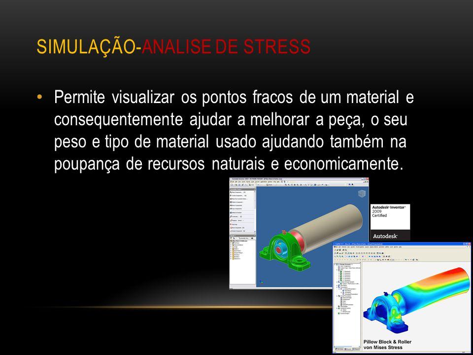 Simulação-analise de stress