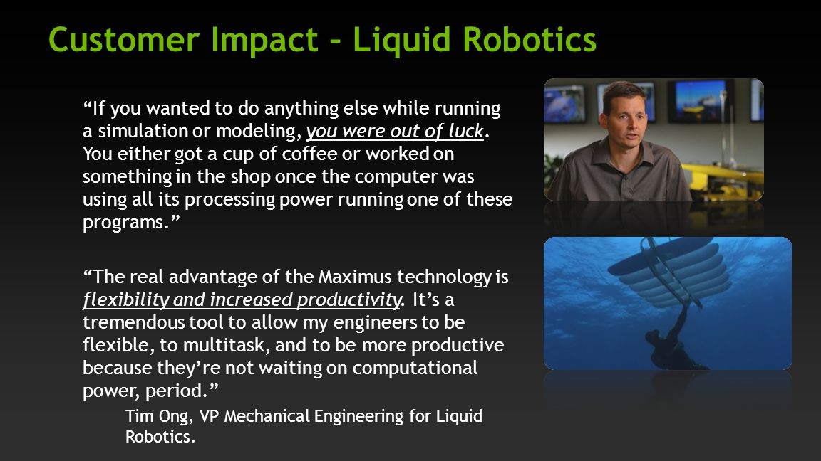 Customer Impact – Liquid Robotics