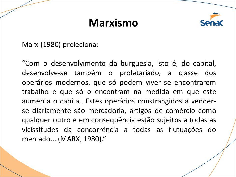 Marxismo Marx (1980) preleciona: