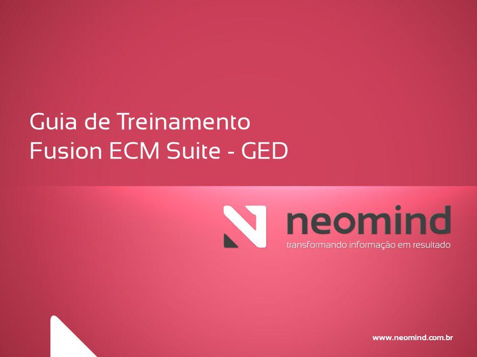 Guia de Treinamento Fusion ECM Suite - GED