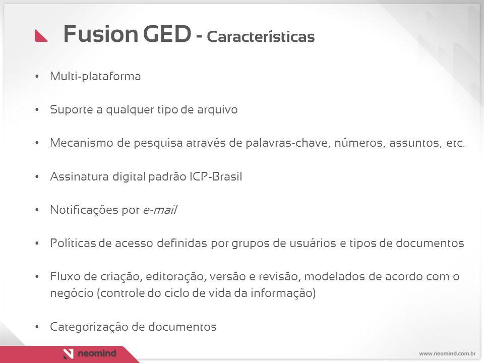 Fusion GED - Características
