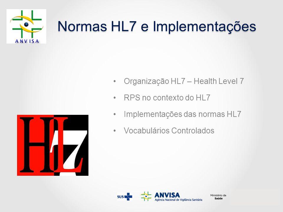Normas HL7 e Implementações