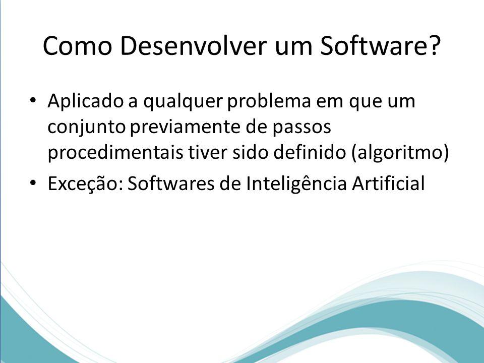 Como Desenvolver um Software