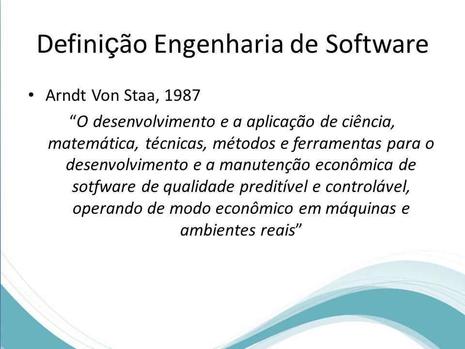 Definição Engenharia de Software