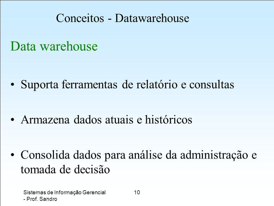 Conceitos - Datawarehouse