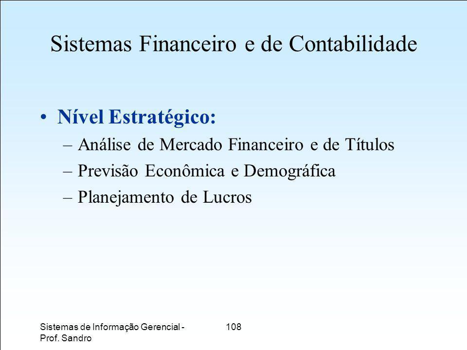 Sistemas Financeiro e de Contabilidade