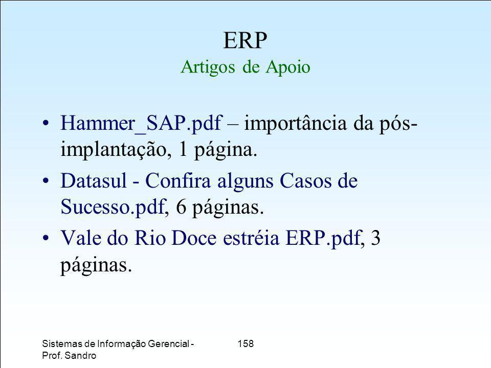 ERP Artigos de Apoio Hammer_SAP.pdf – importância da pós-implantação, 1 página. Datasul - Confira alguns Casos de Sucesso.pdf, 6 páginas.