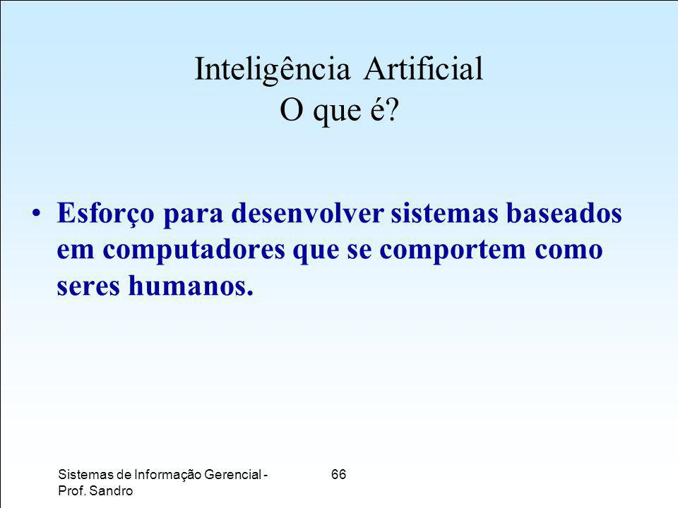 Inteligência Artificial O que é
