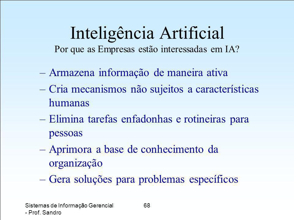 Inteligência Artificial Por que as Empresas estão interessadas em IA