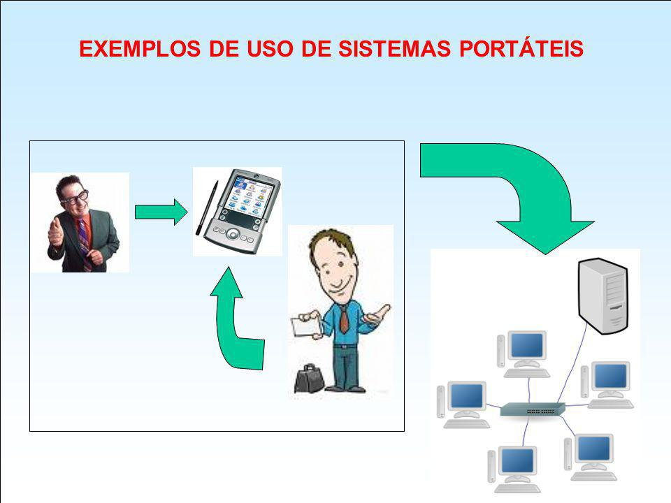 EXEMPLOS DE USO DE SISTEMAS PORTÁTEIS